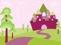 Fayry castle Royalty Free Stock Photography