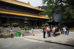 Fayu Temple Putuoshan China Royalty Free Stock Photography