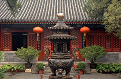 Fayuan Temple, Beijing, China Royalty Free Stock Photo