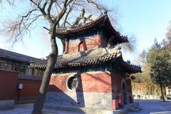 Fayuansi寺庙在冬天 免版税图库摄影