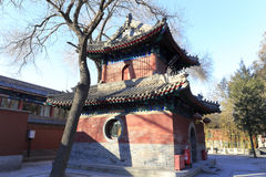 Fayuansi temple in winter Royalty Free Stock Photography