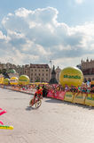 Faza końcowa wycieczka turysyczna De Pologne w Krakow Fotografia Stock