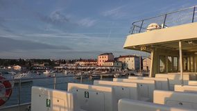 Fazana boat trip,istrie,croatia 190136 stock video