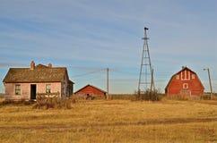 Fazenda abandonada imagem de stock royalty free