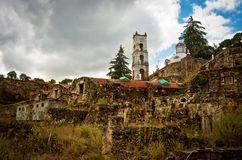 Fazenda Santa Maria Regla, fidalgo méxico Imagem de Stock Royalty Free