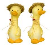 Fazendeiro cerâmico do pato Foto de Stock Royalty Free