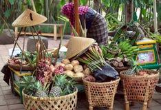 Fazendeiro Market em Indonésia Foto de Stock Royalty Free
