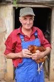 Fazendeiro feliz Imagem de Stock Royalty Free