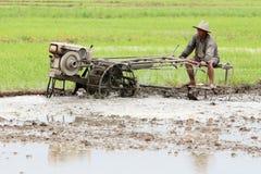Fazendeiro tailandês imagem de stock royalty free