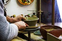 Fazendo a cerâmica Fotografia de Stock Royalty Free