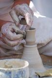 Fazendo a cerâmica Imagem de Stock