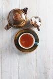 Fazendo o chá no potenciômetro Imagens de Stock