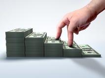 Fazendo o dinheiro Imagens de Stock Royalty Free