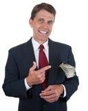 Fazendo o dinheiro Imagem de Stock Royalty Free