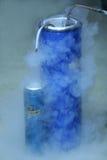 Fazendo o oxigênio líquido imagem de stock