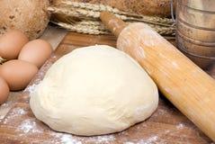 Fazendo a série 012 do pão Fotografia de Stock