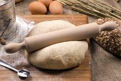 Fazendo a série 018 do pão Foto de Stock Royalty Free