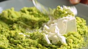 Fazendo um guacamole com receita dos vegies filme
