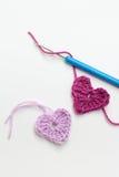 Fazer crochê Fotografia de Stock Royalty Free
