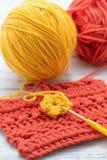 Fazer crochê Foto de Stock Royalty Free