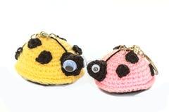 Fazer crochê a arte feito a mão e os ofícios da boneca Foto de Stock Royalty Free