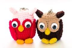 Fazer crochê a arte feito a mão e os ofícios da boneca Fotografia de Stock Royalty Free