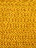Fazer crochê o teste padrão de único e triplo fazer crochê o ponto Imagens de Stock
