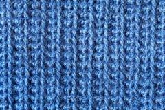 Fazer crochê o close-up da tela Fotos de Stock Royalty Free