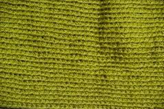 Fazer crochê a textura Fotografia de Stock
