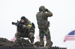 fbi购物中心国民狙击手 库存照片
