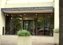 FBI budynek w Waszyngton, DC fotografia royalty free
