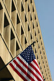 FBI building in DC. Detail of FBI building in Washington DC Stock Photo