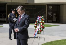 FBI Director Wray at Special Agent Memorial Service