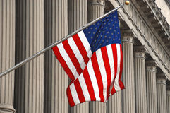 FBI Flag Royalty Free Stock Image