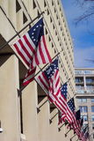 FBI Headquarters. Photo of the J. Edgar Hoover Building in Washington D.C. which is the FBI headquarters Stock Photos