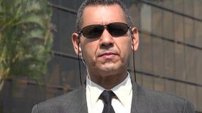 Fbi Lub agent ochrony Obraz Stock