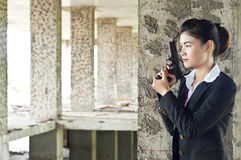 FBI woman agent. Stock Image