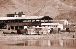 Fábrica de Corea del Norte  Fotografía de archivo