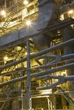 Fábrica de la central eléctrica Imágenes de archivo libres de regalías
