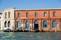 Fábrica de vidro, Murano, Veneza, Itlay Fotografia de Stock Royalty Free