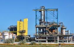 Fábrica del producto químico y del petróleo Fotografía de archivo libre de regalías