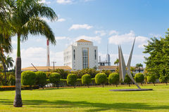 Fábrica del ron de Bacardi en Puerto Rico Imágenes de archivo libres de regalías