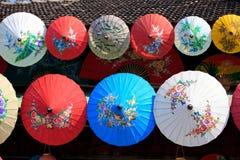 Fábrica do guarda-chuva Fotografia de Stock Royalty Free