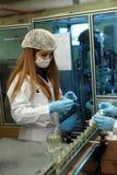 Fábrica do perfume em Turquia Imagem de Stock Royalty Free