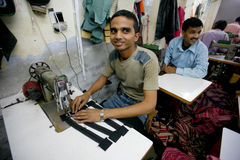 Fábrica indiana Fotografia de Stock Royalty Free