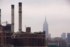 Fábrica New York Fotografia de Stock