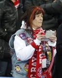 FC拜仁Muenchen v顿涅茨克矿工-欧洲联赛冠军杯 免版税库存照片