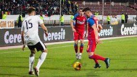 FC沃伦塔里- Steaua布加勒斯特 免版税库存照片
