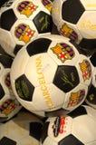 FC επίσημες σφαίρες της Βαρκελώνης Στοκ Εικόνα