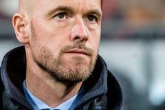 FC λεωφορείο Erik δέκα εκπαιδευτών της Ουτρέχτης Hag Στοκ Εικόνες